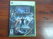 LUCAS ARTS Microsoft XBOX 360 Game STAR WARS THE FORCE UNLEASHED-360